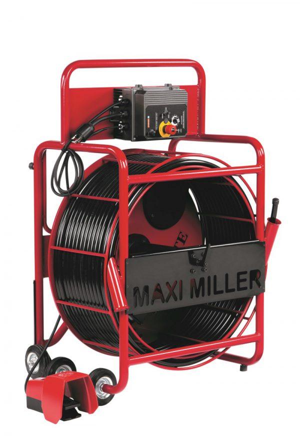 Maxi Miller מכונת חיתוך ופתיחה בצנרות ללא-הרס
