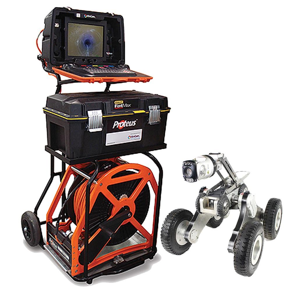 רובוט לצילום צנרת